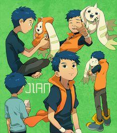 Li Jianliang & Terriermon [Digimon Tamers]