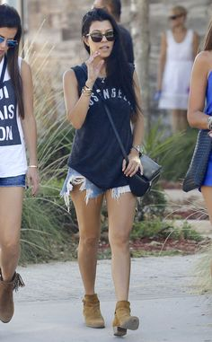 Kourtney Kardashian from The Big Picture: Today's Hot Pics The reality star is seen in Malibu, California.