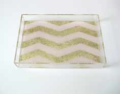 $38 glitter lucite.  yes.