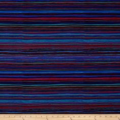 Kaffe Fassett Collective Strata Black from @fabricdotcom  Designed by Kaffe Fassett for Westminster/Rowan Fabrics, this cotton print is perfect for quilting, apparel and home decor accents. Colors include burgundy, plum, turquoise, blue, grey and black.