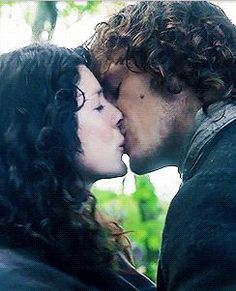 """Ye werena the first lass I kissed,"" he said softly. ""But I swear you'll be the last."" And he bent his head to my upturned face."""