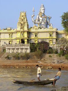 Shiva in Murudeshwara, Karnataka, India.