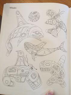 Haida design Haida Kunst, Haida Art, Arte Tribal, Tribal Art, Native Art, Native American Art, Haida Tattoo, Inuit Art, Canadian Art