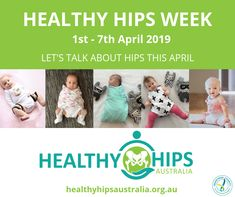 Healthy Hips Week aims to increase awareness of hip dysplasia, so that nobody need unnecessarily face lengthy and painful treatments. Fundraising Activities, Create Awareness, Passionate People, Keeping Healthy, Event Organization, Bake Sale, New Parents, Childcare, Australia
