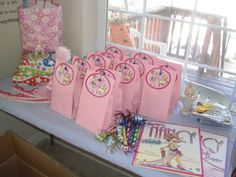 Fancy nancy  party ideas