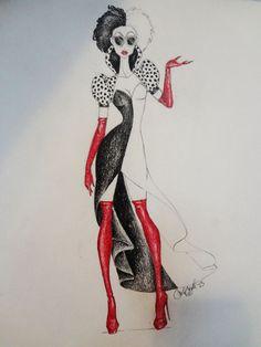 Cruella De Vil by Chadalan07