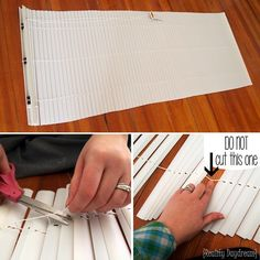 How to make your own Roman Shades using Mini-blinds! - Reality Daydream
