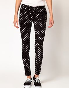 Vergrößern b+ab – Gepunktete Jeans