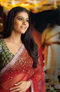 my #1 favorite actress Kajol, Shahrukh khan and Kajol are my two heroes :)