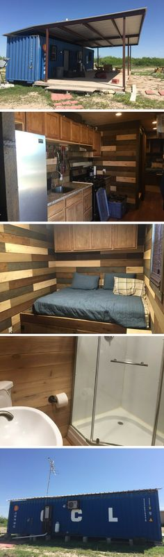 LAREDO TINY CONTAINER HOUSE
