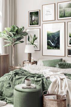 Bedroom Green, Room Ideas Bedroom, Home Decor Bedroom, Living Room Decor, Bedroom Signs, Master Bedroom, Uni Bedroom, Bedroom Quotes, Bedroom Interiors