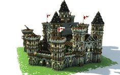 In this tutorial, I am going to try to give you the best possible advice on how to build a medieval-style castle. Stage The inspiration The first stage consists of looking for images of existing ca Minecraft Medieval House, Minecraft Castle Blueprints, Minecraft Houses Xbox, Minecraft House Tutorials, Minecraft House Designs, Minecraft Construction, How To Play Minecraft, Medieval Castle, Minecraft Buildings