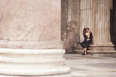 Romantic Rome Engagement Shoot | Teresa Carnuccio | In Love Italy Photography | Bridal Musings Wedding Blog 8