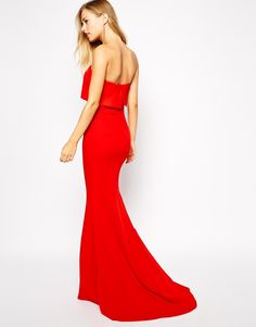 Shop Red Strapless Maxi Dress online. Sheinside offers Red Strapless Maxi Dress & more to fit your fashionable needs. Free Shipping Worldwide!