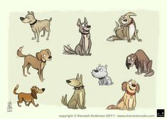 cartoon characters design drawings - Google Search