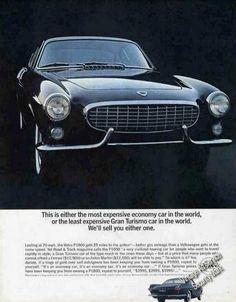 Volvo P1800 Gran Turismo Glamour Photo Car (1963)