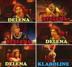 #Stelena #Delena #Defan but hate steroline