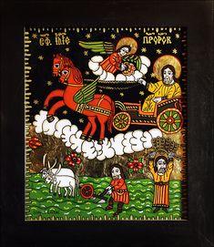 Spiritual Dimensions, Christian Paintings, Religious Icons, Orthodox Icons, Romania, Folk Art, Angels, Spirituality, Glass