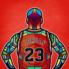 NBA Legends on Behance