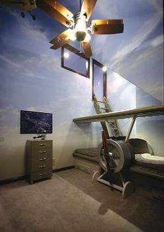 Kids Airplane Design, Pictures, Remodel, Decor and Ideas - page 6