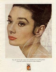 Melanie-  Audrey Hepburn: Givenchy  Vintage Celebrity Endorsements: From Bette Davis To OJ Simpson (PHOTOS)