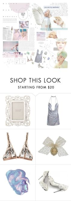 """""""Suga x Jimin"""" by nickianna ❤ liked on Polyvore featuring Mon Cheri, Zara Home, L'Agent By Agent Provocateur and DVLCV"""