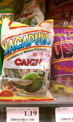 It's really popular with X-Men. What they meant to say: Coconut jelly candy.