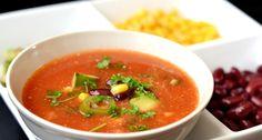 Mexikói paradicsomos leves recept
