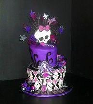 Monster High Spectra Cake for my Chloe's birthday - My WordPress Website Monster High Torte, Monster High Food, Monster High Birthday Cake, Festa Monster High, Girls Birthday Party Themes, 9th Birthday Parties, 8th Birthday, Birthday Ideas, Barbie Party