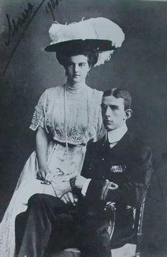 Grand Duchess Marie Pavlovna, Russia -Prince Wilhelm, Sweden