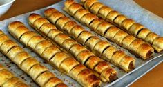 I was a reluctant attendee of school holiday care in my childhood, but I do have them to thank for sparking my early interest in cooking and. Thermomix Sausage Rolls, Best Sausage Roll Recipe, Sausage Recipes, Pastry Recipes, Cooking Recipes, Savoury Baking, Rolls Recipe, Recipe Recipe, Food Inspiration