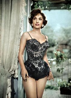 Gina Lollobrigida my father's love affair.I was named after her, but never could I compare to such a beautiful women