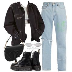 On p a r i s styledbyclary aesthetic aestheticfashion outfitideas outfitinspo source by dyaneeddrabek fashion outfits 25 ways to wear a leather jacket Edgy Outfits, Teen Fashion Outfits, Swag Outfits, Retro Outfits, Grunge Outfits, Cute Casual Outfits, Vintage Outfits, 80s Fashion, Urban Fashion Girls