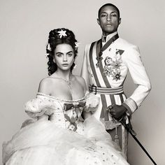Cara and Pharrell Team Up for Fashion