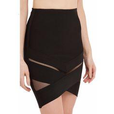 Mason high waisted mini skirt ($43) ❤ liked on Polyvore featuring skirts, mini skirts, mini pencil skirt, print mini skirt, asymmetrical mini skirt, pencil skirt and high waisted mini skirt