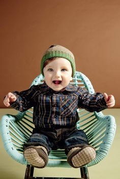 KENZO KIDS check shirt baby fashion for winter 2010