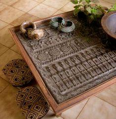Dogon Door table. Mali Chic.   www.bellezzaglobalconsult.com
