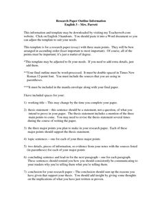 Formal Research Paper Research Pinterest Resume Format And