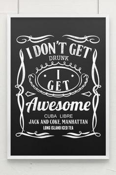 Get Awesome Poster