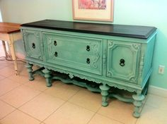 Annie Sloan Provence 1930/40s buffet by Christina