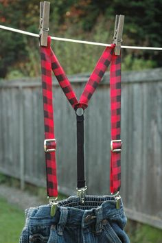 Little Lumberjack Suspenders
