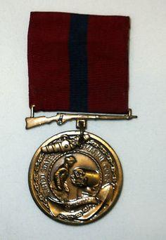 Vintage USMC Marine Good Conduct Medal Corps 1940s - 1950s Era Semper Fidelis