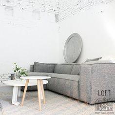 ✧ home: ✧ Furniture, Minimalist Sofa, Loft Furniture, Sofa Furniture, Home Furniture, Home Decor, House Interior, Living Room Grey, Home And Living