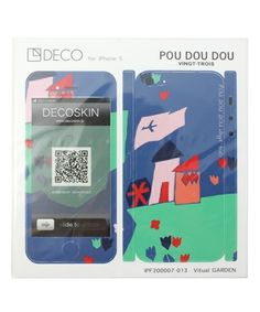DECOSKIN iPhone5 for POUDOUDOU of (Pudo ~ udo ~ u) (Mobile Case / Cover) | Blue Other