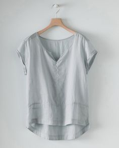 poetry | short sleeved hemp top