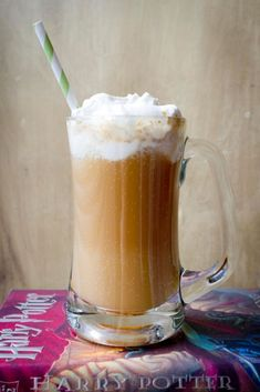 Butterbeer (si, quella di Harry Potter !) : root beer + gelato al caramello