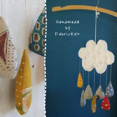 handmade*zakka | fabrickaz+idees :: mobile for gus