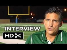 When The Game Stands Tall - Interview | Jim Caviezel 2014 Sports Movie HD