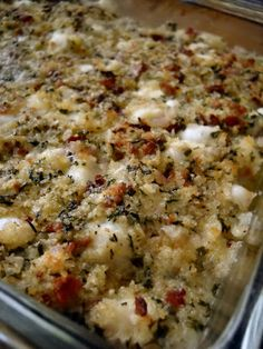 Bay Scallops Gratin – cinnamon freud I have said it before, and I will say it again: Ina Garten is a culinary genius. I made this dish for the first time with friends, and I had never even heard of a scallop before. In fact, I c… Seafood Scallops, Baked Scallops, Fish And Seafood, Sea Scallops, Seafood Casserole Recipes, Seafood Recipes, Dinner Recipes, Cooking Recipes, Seafood Meals