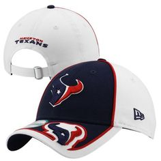 '47 Brand Houston Texans Cleanup Adjustable Hat - Navy Blue